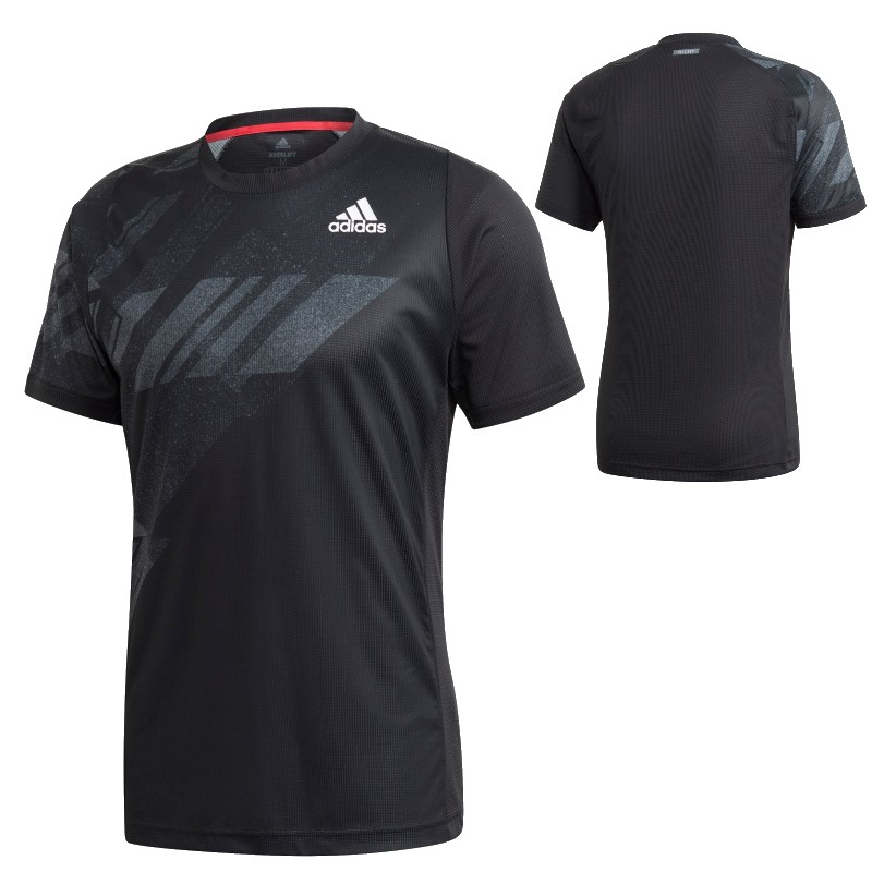メンズウェア, Tシャツ OK (adidas) T HEAT. RDY FREELIFT PRINTED TENNIS T-SHIRT HEAT. RDY (20aw) IPC98-GG3746