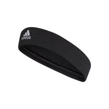 【3%OFF クーポン発行中】アディダス(adidas) テニス ヘッドバンド (18fw) ブラック×ホワイト DUR58-CF6926