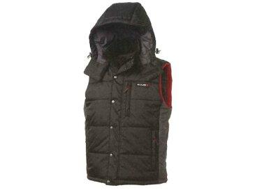 日産コレクション ファッション BASIC フーデッドキルティングベスト ブラック Sサイズ KWA03-50G51-BK