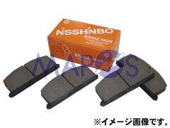 日清紡 ブレーキパッド ホンダ フィット フロント PF-8263 *ブレーキパット*