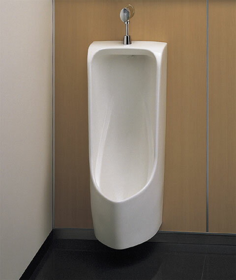 【楽天市場】【送料無料】 Toto 壁掛小便器低リップ・塩ビ排水管用ufh500(小便器のみの販売になります):エイプラス