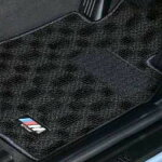 BMWMフロア・マット・セット(ブラック/グレー)(右ハンドル車用)
