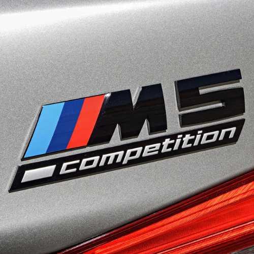 外装・エアロパーツ, エンブレム BMW M5 competition ()(F90)