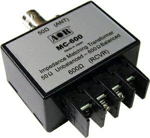 AOR_MC-600_マッチングトランス,BCL,短波