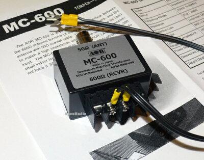 AOR_MC-600_マッチングトランス,BCL