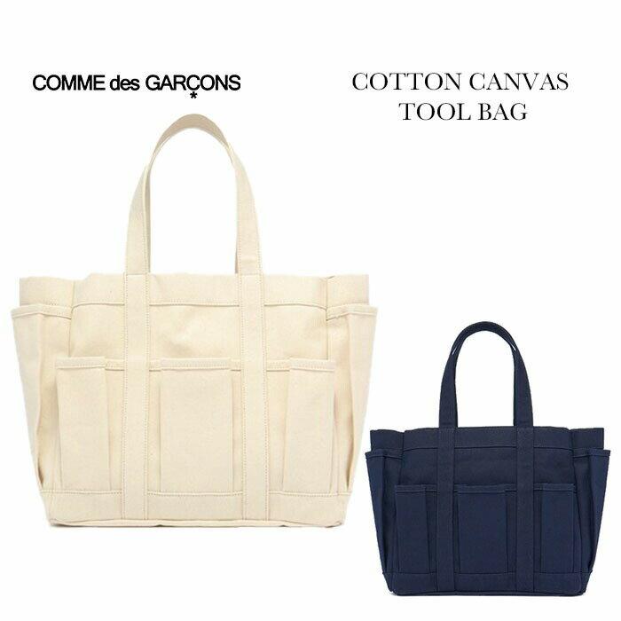 レディースバッグ, トートバッグ COMME des GARCONS COTTON CANVAS TOOL BAG 2019AW W27610
