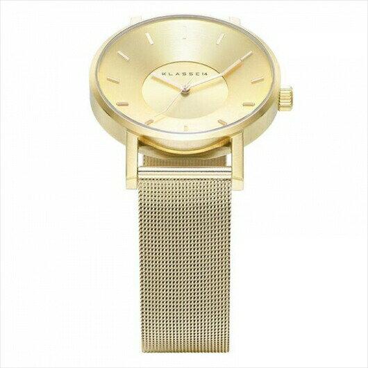【】並行輸入品 KLASSE14 クラスフォーティーン VO14GD002M VO14GD003W ペア 腕時計 メンズ レディース ステンレススチール ギフト 贈り物 プレゼント シンプル ペアウォッチ おしゃれ WATCH watch