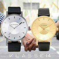 【送料無料】並行輸入品KLASSE14クラスフォーティーンVO14SR001MVO14GD001Wペア腕時計メンズレディースイタリア製高級レザーステンレススチールギフト贈り物プレゼントシンプルペアウォッチおしゃれWATCHwatch