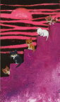 渡辺 あきお 絵画・アート(版画)/それぞれ 思いの場所/ねこ・ネコ・猫