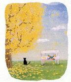 野地 美樹子 絵画・アート(版画)/約束の木の下で(大)/ねこ・ネコ・猫