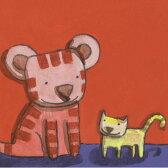 キロメロ 絵画・アート(版画)/ネコ、ネコ/ねこ・ネコ・猫