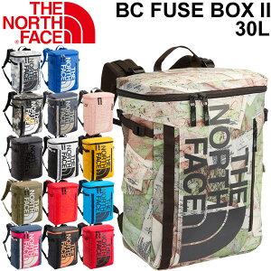 バックパック デイパック ノースフェイス THE NORTH FACE ベースキャンプ ヒューズボックス 2/メンズ レディース ボックス型 30L リュックサック アウトドア カジュアル 縦型 鞄 かばん BC Fuse Box