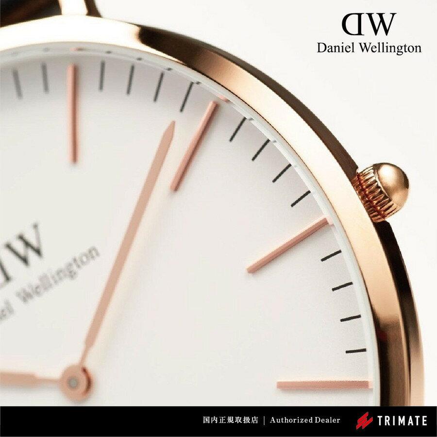 Daniel Wellington 腕時計 Classic BAYSWATER ローズゴールド 36mm