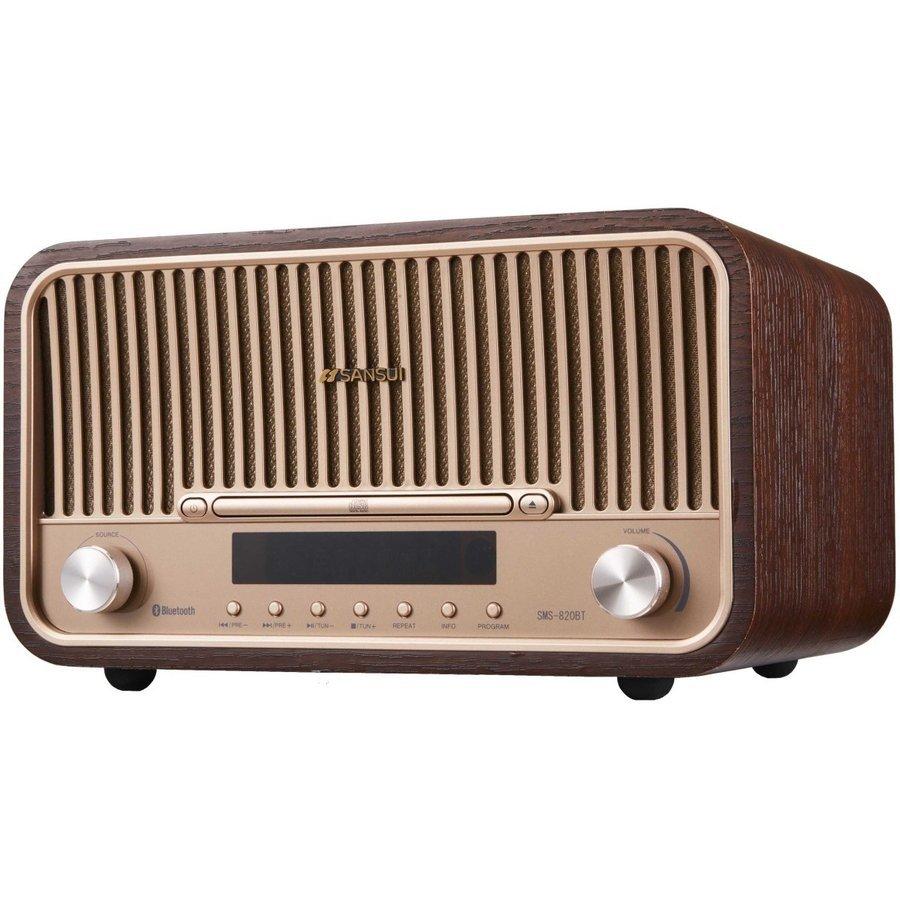 オーディオ, スピーカー SANSUI SMS-820BT Bluetooth CD Hi-Fi 15W15W (R)