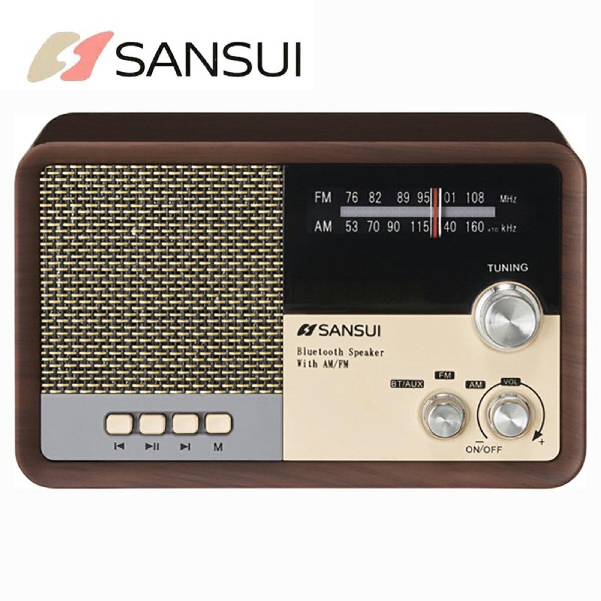 オーディオ, ラジオ SANSUI MSR-1 WD AM FM Bluetooth iPhone (R)