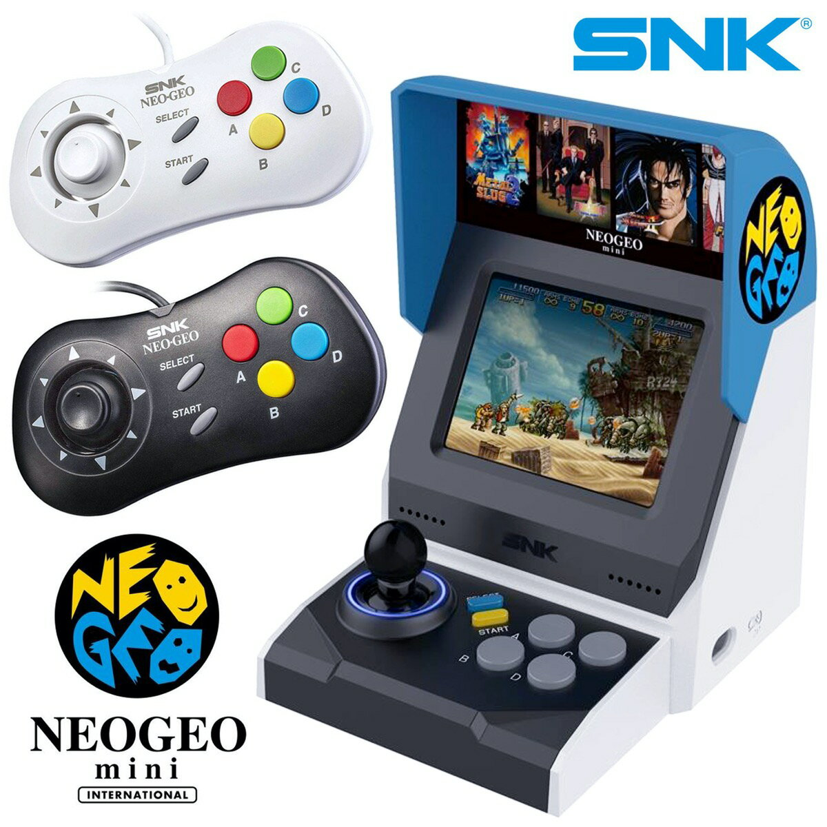 テレビゲーム, その他 NEOGEO mini International 2 40 PAD SNK (SG)