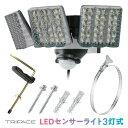 TRIFACE LEDセンサーライト 3灯式 屋外用 SL-