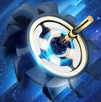 【6本指操作】冷却ファンUSBから給電CoDモバイル荒野行動PUBGMobile一体式ゲームコントローラー伸縮式ゲームパッド高速射撃ボタンクリック感エイムアシストiPhoneAndroid等対応