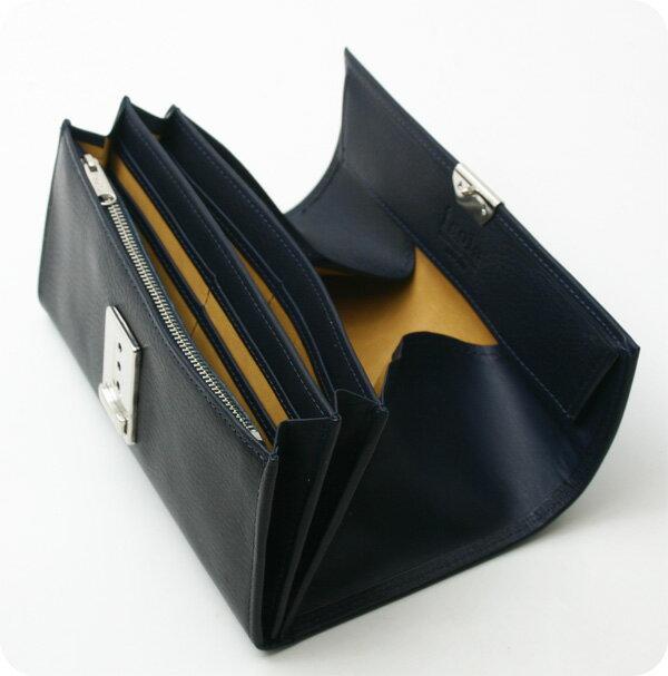 Isola アイソラ 財布 サイフ ギャルソンウォレット カリオカ 長財布三段錠スリムタイプ 4006C