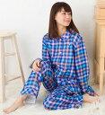 ワコール ツモリチサト パジャマ 部屋着 tsumori chisato SLEEP三重ガーゼ先染ストライプ&チェック 前開き UDQ110ツモリチサトスリープナイティ