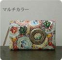 財布 ツモリチサト キャリー【tsumori chisato CARRY】小花 二つ折り財布