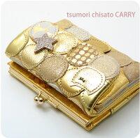 ツモリチサトキャリー【tsumorichisatoCARRY】マルチドット札ガマ財布