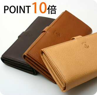 ★ points 10 times CI-VA Chiba Nume leather wallet CI-VA