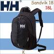 ヘリーハンセン あす楽対応 サンドヴィーク18 ブラック リュックサック リュック 鞄 バッグ アウトドア HELLY HANSEN Sandvik 18 18L K HOY91704
