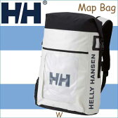 ヘリーハンセン 送料無料 2017年モデル マップ バッグ ホワイト リュックサック リュック 鞄 バッグ アウトドア Map Bag 25L W HY91726