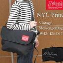 マンハッタンポーテージ NYCプリント あす楽対応 ヴィンテージ メッセンジャーバッグ ブラック レッド  Manhattan Portage Vintage Messenger Bag NYC Print Limited Black Red 鞄 バッグ ショルダー メッセンジャー 卸限定フラップカラー 数量限定商品