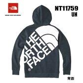 ザ ノースフェイス ロゴマント フルジップ フーディ(メンズ) 裏起毛素材 The North Face Logo Mantle Fullzip Hoodie NT11759 (UN)アーバンネイビー