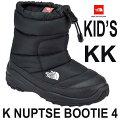 ザノースフェイス送料無料171819202122cmヌプシブーティー4(キッズ)KKTNFTNFブラック×ブラック子供小学生高い人気を誇る高機能カジュアルブーツの子供用モデルですブーツTheNorthFaceKNuptseBootie4BLACKNFJ51781