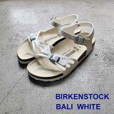 ビルケンシュトック あす楽対応 バリ ホワイト Birkenstock Bali White Birko-Flor sandal made in Germany ビルコ フロー コルク サンダル ビルケン  085053 日本正規輸入品証明書つき