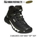 """キーン 1023477 フジロック コラボモデル メンズ ターギー EXP ミッド SP ウォータープルーフ 防水ハイキングシューズ Keen Mens TARGHEE EXP MID """"SP"""" WP Fuji Rock Festival'21"""