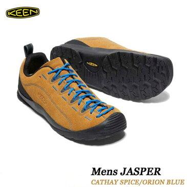 キーン 500円クーポンあり ジャスパー メンズ ジャスパー KEEN MENS JASPER 男性サイズ スニーカー アウトドア トレッキング シューズ 1002661 CATHAY SPICE ORION BLUE