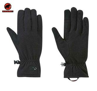 瑪莫特重要搖粒絨手套手套瑪莫特重要搖粒絨手套 1090年-02461-0001 黑色