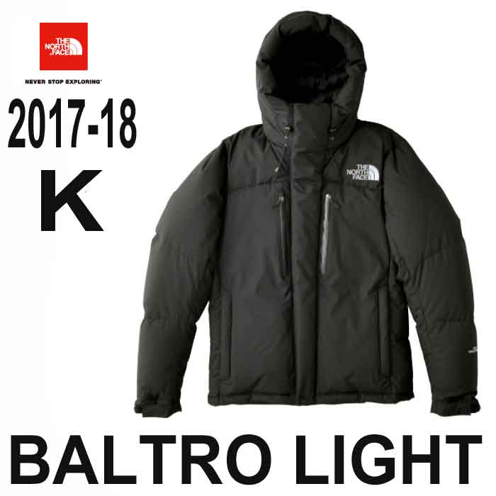 ザ ノースフェイス あす楽対応 ステッカープレゼント バルトロ ライト ジャケット ブラック 天体観測や雪上ハイクにも対応、高い保温性を持つ防寒ジャケット The North Face Mens Baltro Light Jacket ND91710 (K) BLACK