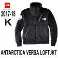 ザノースフェイス10月中旬出荷予定2017-18年最新モデルアンタークティカバーサロフトジャケットブラック南極と名前につくくらい高い保温性を持つフリースジャケットTheNorthFaceANTARCTICAVERSALOFTJacketNA61710(K)BLACK