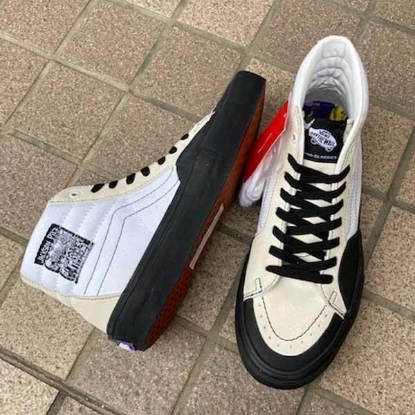 メンズ靴, スニーカー  VN0A45JD5WR ) VANS SK8 Hi Pro (Jackson Pilz) WhiteBlack