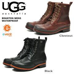 【特別価格】◆レビューを書いて送料無料◆ UGG BRANTON MENS アグ ブラントン レースアップブ...