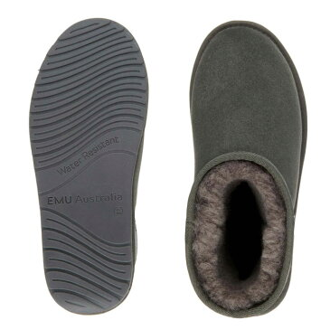 送料無料 エミュ EMU Stinger MINI スティンガー ミニ ムートンブーツ ブーツ シューズ もこもこ シープスキン 茶 黒 グレー ベージュ ネイビー 女性 レディース ウィメンズ W10003 靴 くつ クツ 暖かい あったか 防寒