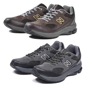 【送料無料】ニューバランス New Balance MW1501 ワイズ 2E 4E G スニーカー メンズ 男性 シューズ 靴 くつ クツ ローカット ダークブラウン ダークグレー 幅広 ワイド