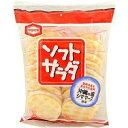 【せんべい】【旨味のあるまろやか塩味】【2枚個包装10袋】ソフトサラダ 20枚12袋【亀田製菓】