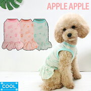ボーダー ワンピース Appleapple アップル ドッグウェア ドッグウエア