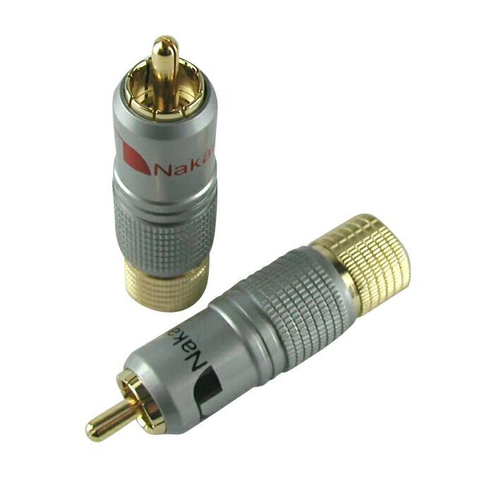 アクセサリー・部品, 変換アダプター・変換プラグ  Nakamichi RCA 24K 2