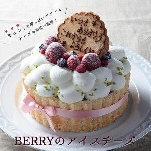 Berryのアイスチーズ【5号】(直径15cm)|お誕生日 バースデイ 記念日 アイスケーキ ケーキ アイスクリーム ア...