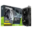 【9月18日以降入荷予定】グラフィックボード・ビデオカード ZOTAC(ゾタック) GAMING GeForce GTX 1660 SUPER Twin Fan ZT-T16620F-10L NVIDIA GeForce GTX 1660 SUPER PCI Express 3.0 x16 HDMIx1 DisplayPortx3 GDDR6 6GB [ZTT16620F10L] 4537694276351