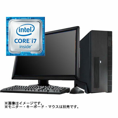 (WEB限定)(デスクトップパソコン本体)スリムタワー型モデル17(Core i7 7700/8GB/HDD 1TB/Win10Home64bit):アプライド