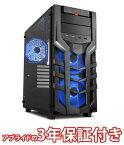 (最大150円OFFクーポン配布中)(3年保証 BTOパソコン) ゲーミングデスクトップパソコン Core i7 8700 DDR4 16GB SSD 480GB HDD 3TB 750W 80PLUS Gold Geforce RTX2080Ti BGI78700S03FF1509 Barikata Games デスクトップパソコン ゲーミングパソコン ゲーミングPC 新品
