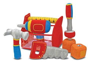 Melissa&Doug メリッサ&ダグ ツールボックスセット ベビー キッズ おもちゃ 大工 日曜大工 ごっこ遊び 知育玩具